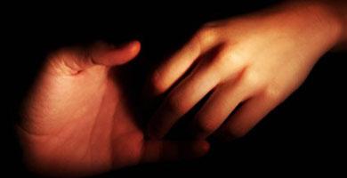 Фото грибки на руках