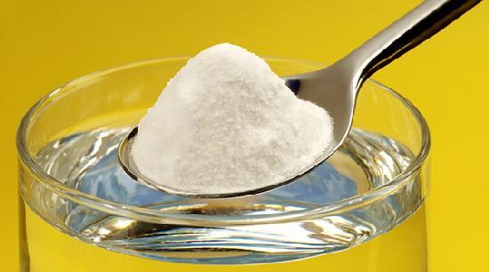 Применение соды с водой