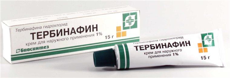 Крема на основе Тербинафина