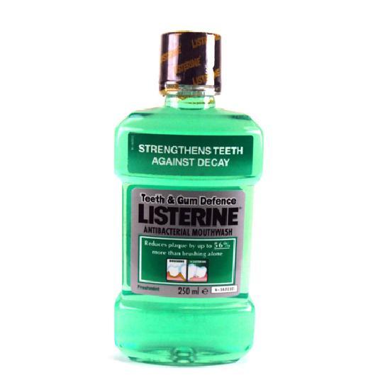 Лечение грибка - применение Листерина