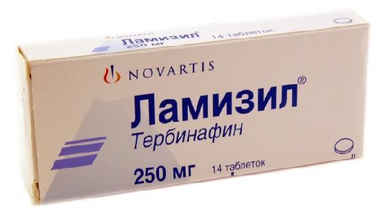 Ламизил - особенности лечения